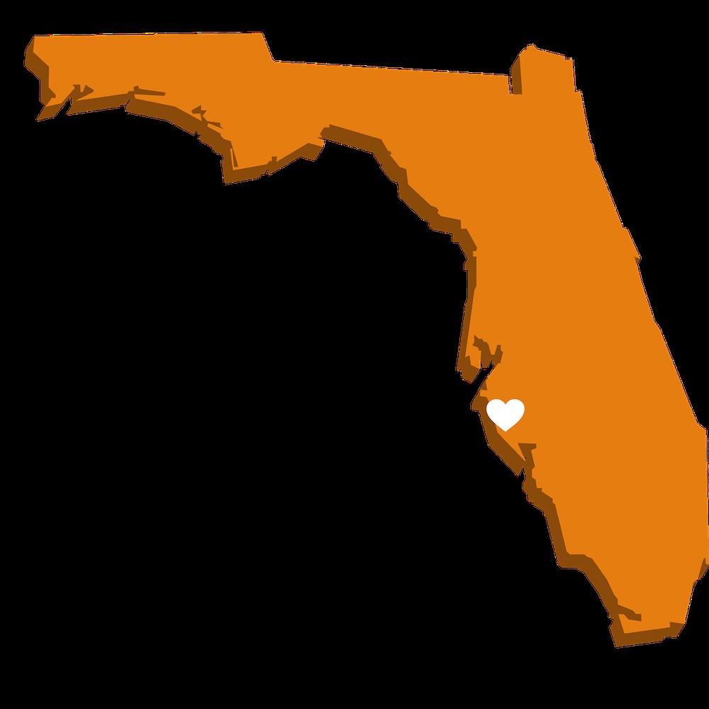 Mapa Florydy